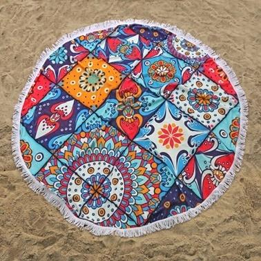 İrya  Indıa Plaj Havlusu Renkli